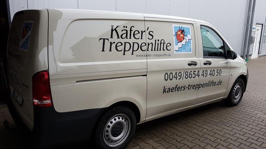 Kaefers Treppenlifte Lieferwagen