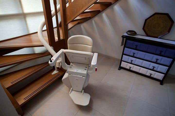 Treppenlift Kurvenlift